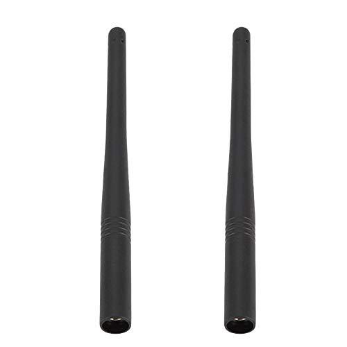 Eboxer 2Pcs 15.5cm VHF 136 174MHz Antena Walkie Talkie