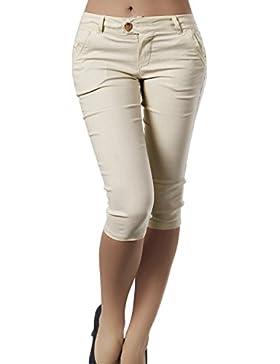 Donne In Pantaloni Capri In Forma Tagliata A Metà E Pantaloni