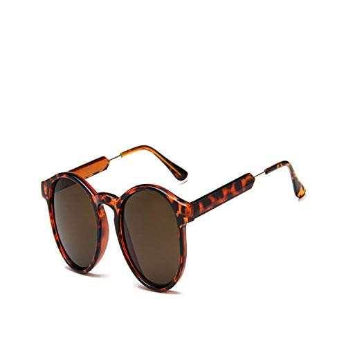 Sportbrillen, Angeln Golfbrille,Retro Round Sunglasses Women Men Brand Design Transparent Female Sun Glasses Men Oculos De Sol Feminino Lunette Soleil 4