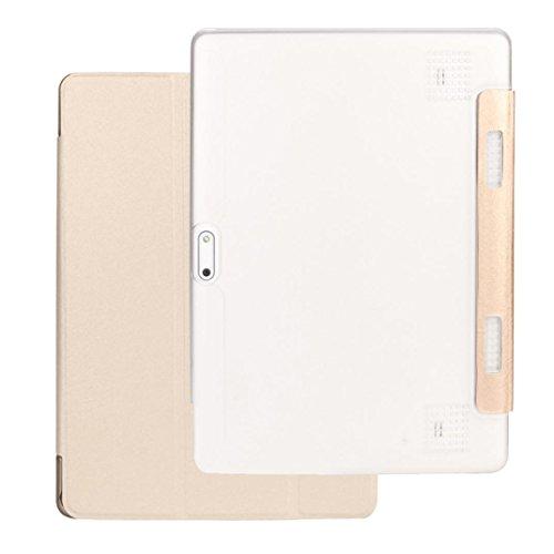 samLIKE für 10/10,1 Zoll Android Tablet PC Universal Silikon Standplatz Fall (Gold) (9-zoll-android-tablet-fall)