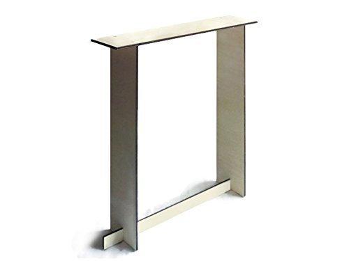 Schlanker Konsolentisch aus Holz für den Eingangsbereich 20 verfügbare Farben als Weiß Aus Pappelsperrholz Flachgepäckmöbel Günstige Schlafzimmer-Tische von italienischem Designer