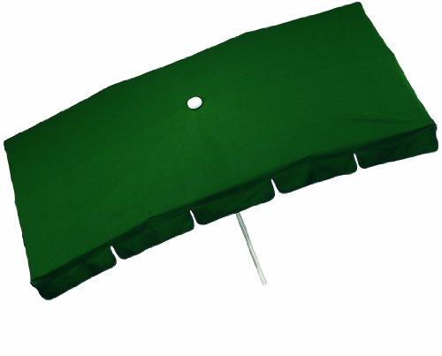 Holly ® Produkte STABIELO ® - RECHTECK - SONNENSCHIRM mit Metall Knicker und Drehfeststeller - 100 % POLYESTER ca. 160 g/m² - Modell : HUSUM - ZANGENBERG - MADE in GERMANY - 225 cm x 120 cm - 10 teilig - 16 Farben - bei Bestellung Farbe angeben : WEIß - NATUR - BEIGE - GOLDGELB - TERRA - D-GRÜN - BLAU - USW. - holly-sunshade ® - Im Preis Teil - Versandkosten enthalten -