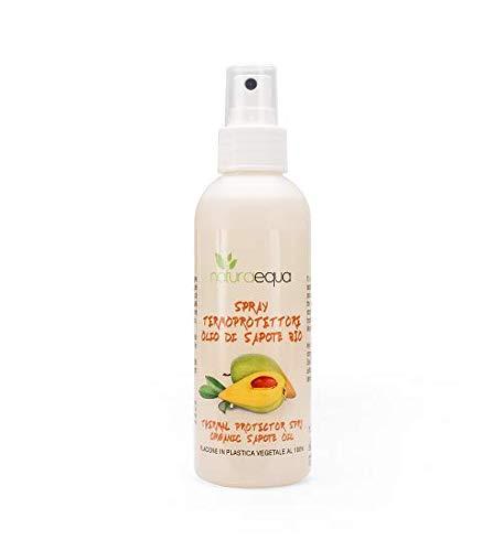 NATURAEQUA - Thermoprotektor Haarspray mit Sapotè Öl - Leichte Formel - Schützt vor der Hitze des Styling - 150 ml