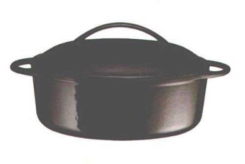 Baumalu 387002 4 Saisons Cocotte Ovale + Couvercle 4,5 L Diamètre : 28 cm