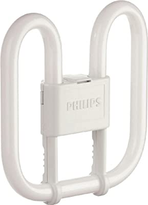 Philips PL-Q Compact Fluorescent 2 Pin Light Bulb (GR8 16W) - Warm White from Philips