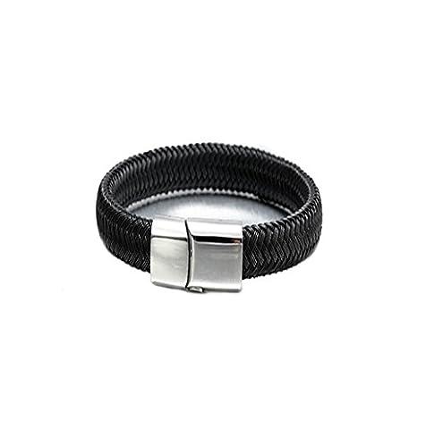 Wangjianfeng Mignon mâle rétro poignet accessoires corde à main exquise , black