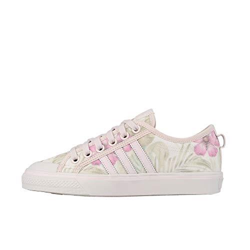 adidas Damen Nizza W Fitnessschuhe, Mehrfarbig Tinorc/Balcri 000, 37 1/3 EU (Adidas Bunt Schuhe Damen)