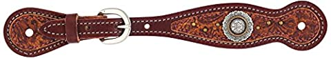 Weaver Leather Western Edge Ladies Spur Strap, Sunset