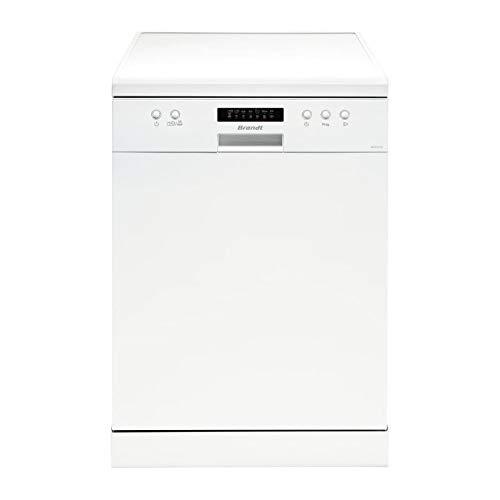 Brandt DFH13217W Autonome 13places A++ lave-vaisselle - Lave-vaisselles (Autonome, Blanc, Taille...