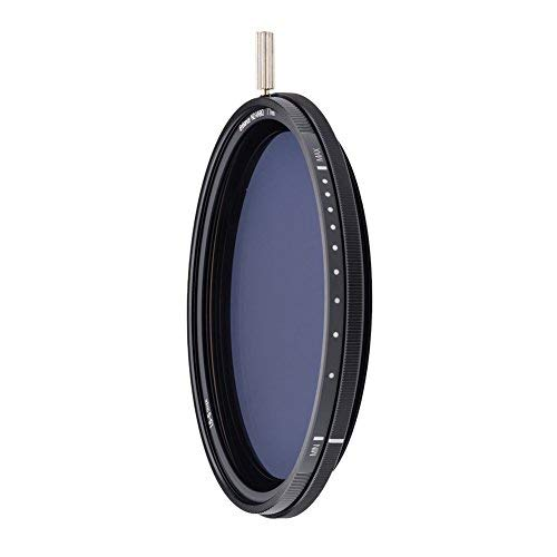 NiSi Filtro ND Variabile 1.5 5 stops ND VARIO Nano coating Vetro ottico