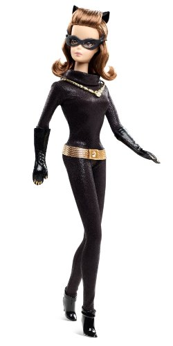 Barbie Hollywood: Catwoman Puppe (Classic Catwoman Kostüm)