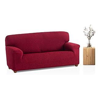 Bartali Aitana Elastic Sofa Cover 3 Seater red