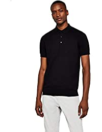 MERAKI - Short-Sleeve Knit Polo, Felpa Uomo