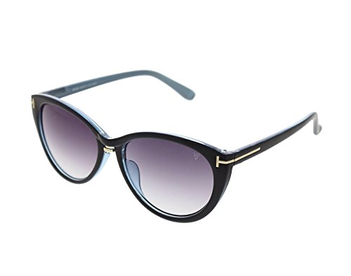 Vast UV Protection Designer Cateye Women Sunglasses (96008B23Blue|Grey Lens)...