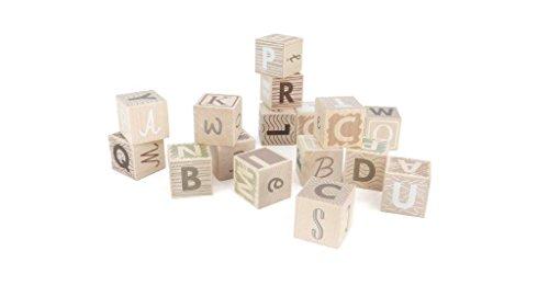 Bajo Wooden Toys 92340 Earth Colours alphabet