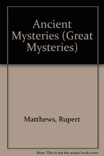 Ancient Mysteries (Great Mysteries) (Geist-spender)