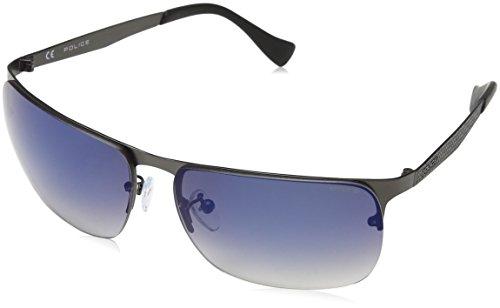 police-mens-s8957m-sunglasses-blue-matt-gunmetal-one-size