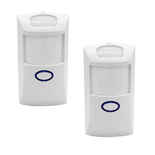 Sonoff PIR2 PIR 433 MHz Wireless Dual Infrared Human Sensor for Smart Home Automation Security Alarm System, Work with RF 433 Bridge via EWeLink App.(X 2PCS) Wireless Security Alarm System