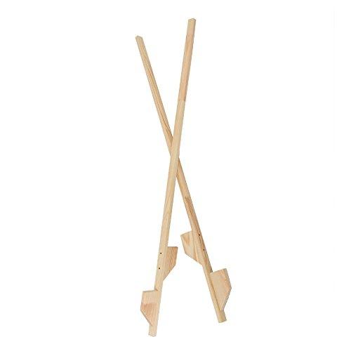 Holzstelzen 140cm Holz Stelzen Langstelzen Kinderstelzen Holzspielzeug Ballance