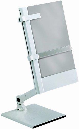 MAUL Konzepthalter mit Fußplatte und Tragarm, grau (81624)