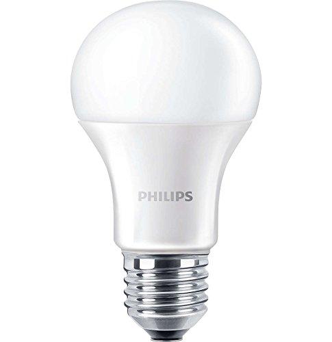 Philips CorePro LED 13W (100W), A60, E27, rosca Edison, bombilla, blanco frío, no regulable, translúcido, sintético, E27, 13 wattsW 240 voltsV