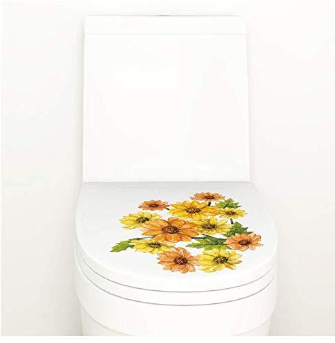 Chrysantheme Pflanze Blume Wandaufkleber Wc Bad Dekoration Küche Schrank Pvc Decor Wandbild Wandkunst Aufkleber 40 * 30 Cm