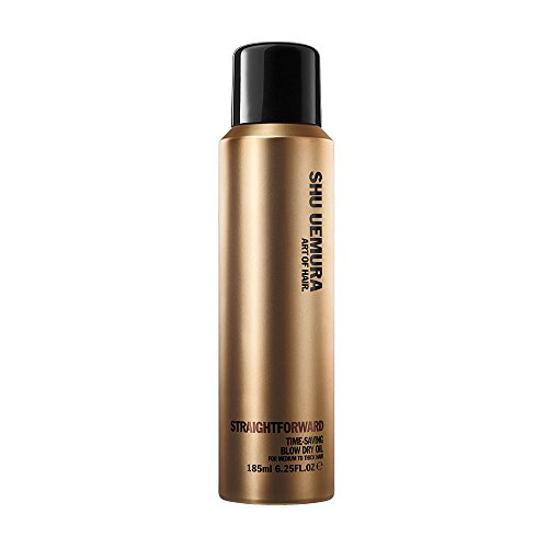 Shu Uemura Straightforward Time-saving blow dry oil spray 185ml (12904)