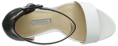 CK Calving Klein - Caitlin Soft Patent+kid Nappa, Scarpe col tacco Donna Multicolore (Mehrfarbig (WBA))