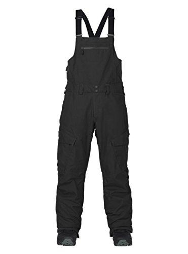 Burton Herren Reserve Bib Pant Snowboardhose, True Black, M