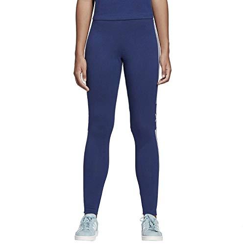 adidas Damen Trefoil Leggings, Dark Blue, 42