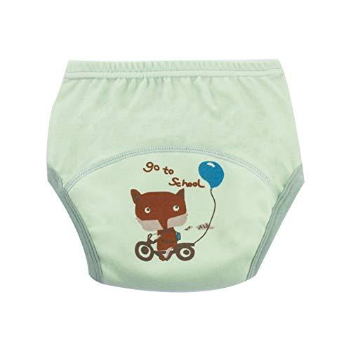 Deanyi Windeln Baby Windel für Kinder Unterwäsche für Toiletten Trainings Kind Mehrwegwindeln Training Pants Höschen |geeignet für Babys von 12 bis 13 kg 1pc Fox Muster Baby Produkt