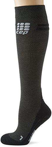 CEP Damen Progressive+ Run Merino Women Socken, Anthrazit, Gr. 32-38 (Herstellergröße:III)