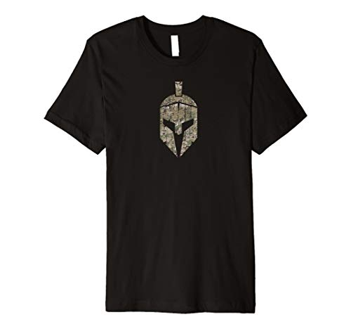 Spartan Helm Shirt–Camouflage Muster
