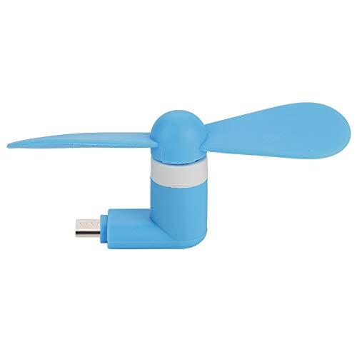 Eboxer Mini Portable Hand Micro USB Kleiner Lüfter Ultra-leiser USB-Lüfter für Android OTG Smartphones