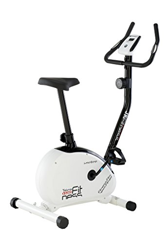 JK Fitness Tekna 1500 Cyclette Magnetica, Bianco/Nero