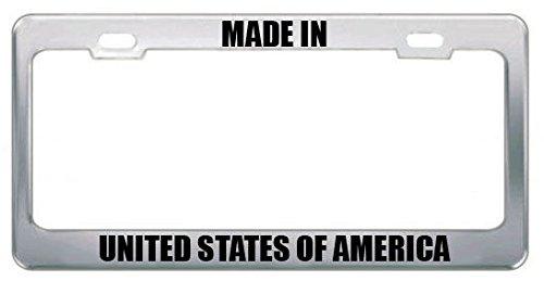 s of America Land Kennzeichenrahmen Tag perfekt für Männer und Frauen Auto Garadge Dekor ()