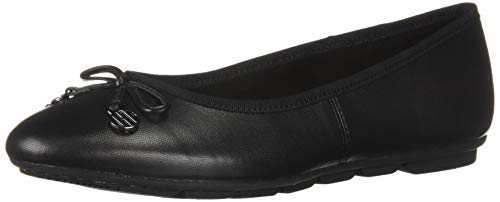 Hush Puppies Womens Abby Bow Ballet Slip On Flat Pumps Shoes