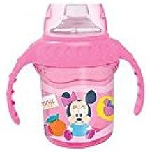 Winnie The Pooh - Taza de aprendizaje Disney Baby con boquilla de silicona Minnie rosa