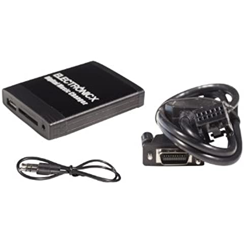 Adaptador de USB MP3, AUX, SD, Bluetooth Manos libres / Teléfono con altavoz CD para Peugeot 207, 307 (SW), 308, 407 (SW), 607, 807 de 2005 RD4 Radio un Citroen C2 , C3, C4, C5, C8 todos de 2006 de RD4