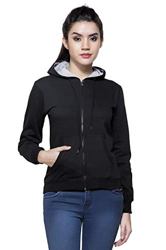 Maniac Women's Fullsleeve Hooded Sweatshirt