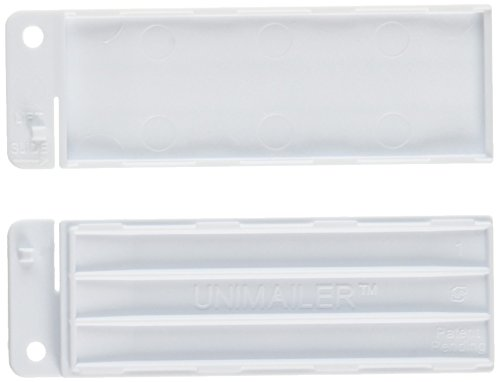 SIMPORT 039749 Shipping tray for slide Unimailer white colour