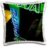 Hotels - Buenos Aires, Argentina, Neon hotel sign 16x16 inch Pillow Case