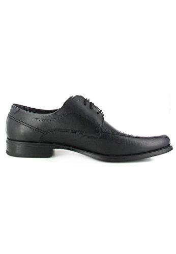 FRETZ mEN-nevada-chaussures pour homme noir chaussures en matelas grande taille Noir - Noir