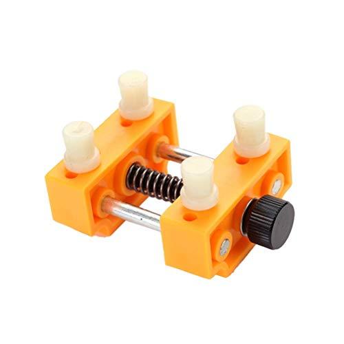 VROSE FLOSI Watch zurück Fall Remover Tool Kit Uhr einstellbar Öffner Presse Näher Remover Reparatur Werkzeug (gelb) (Watch Tools Zurück Fall öffner)
