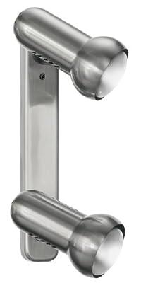 Eglo Wand-/ Deckenleuchte / Modell-Manhatten / 2-flammig / aus Stahl / Kunststoff, schwarz / HV 2 x E27 max. 60W / exclusiv Leuchtmittel / Länge-30 cm, nickel-matt 81037 von Beco GmbH & Co. KG auf Lampenhans.de