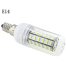 Bombillas Mazorca E14/G9/B22/E26/E27 10 W 48 SMD 5730 1000 LM Blanco Cálido/Blanco Fresco AC 100-240 V ( Conector : E14 , Color de Luz : Blanco Frío )