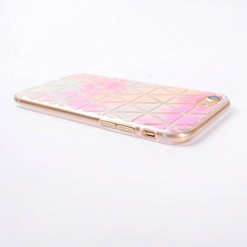 iPhone 7 Hülle, Voguecase [Shockproof] [Fallschutz] Rüstung Schutz Etui Soft TPU Silikon Stoßfeste Protective Cover Case für Apple iPhone 7(Dunkelblau) + Gratis Universal Eingabestift Farbe Diamant