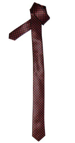 Retreez Krawatte schmal, verschiedene Designs und Farben