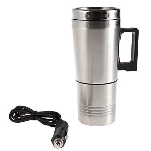 Tragbare Auto Wasserkocher Reise Auto Zigarettenanzünder DC12V Wasserkocher Schnell Kochen für Tee Kaffee 300 ml