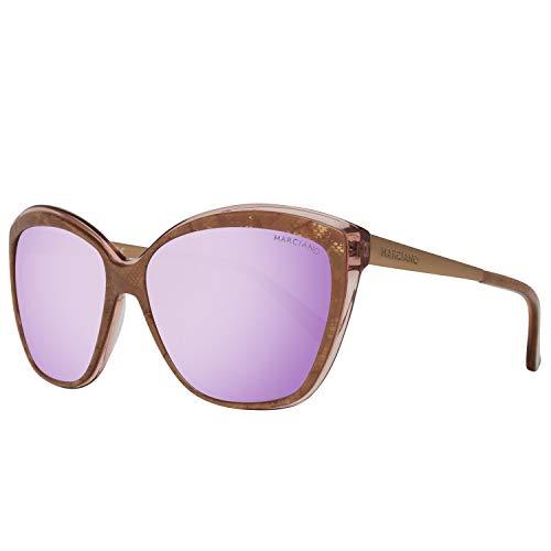 Guess MARCIANO Damen GM0738-5974Z Sonnenbrille, Braun (Cream), 59